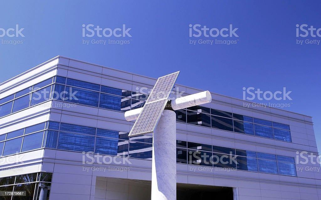 Solar Panel Industry royalty-free stock photo
