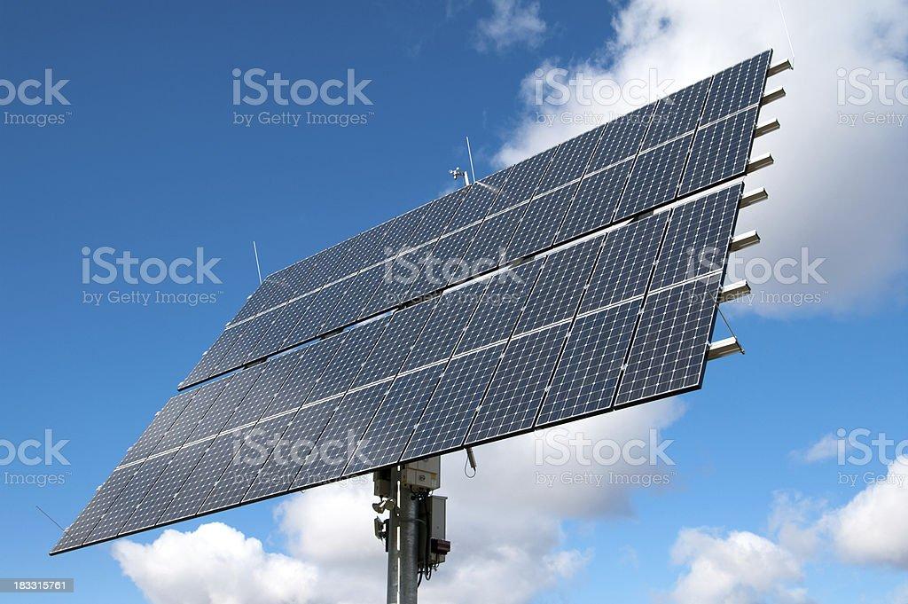 Solar Panel on Pedestal royalty-free stock photo