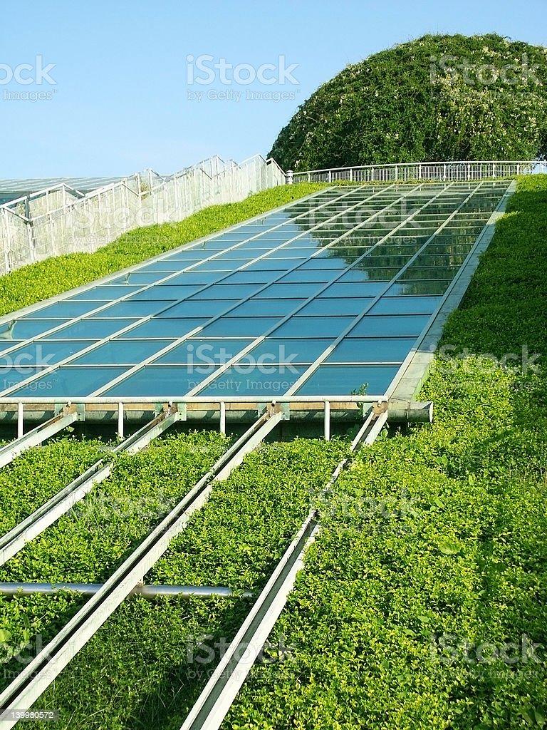 Solar Panel. royalty-free stock photo