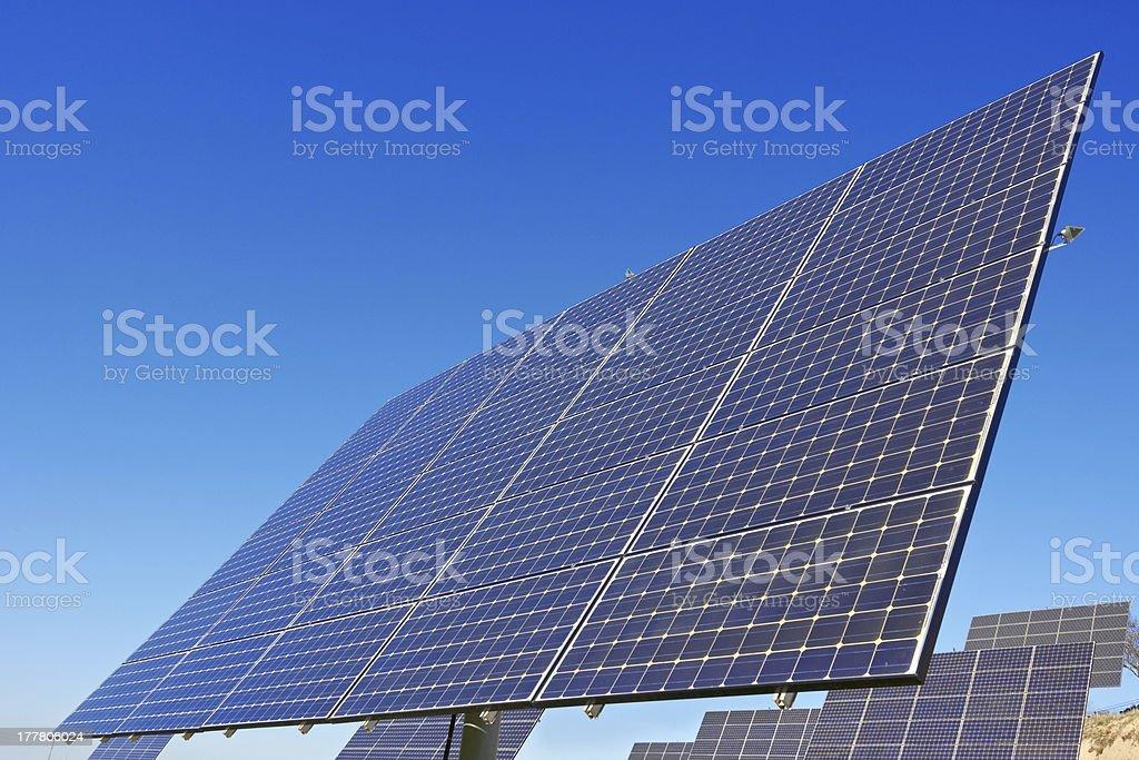 solar panel royalty-free stock photo