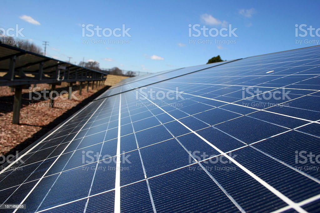 Solar Panels 1 royalty-free stock photo