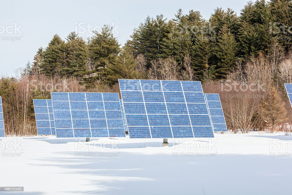 Solar Panels 1 stock photo