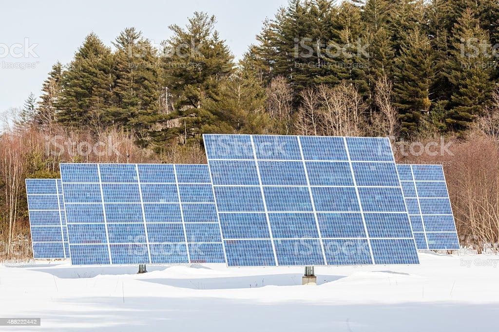 Solar Panels 2 stock photo