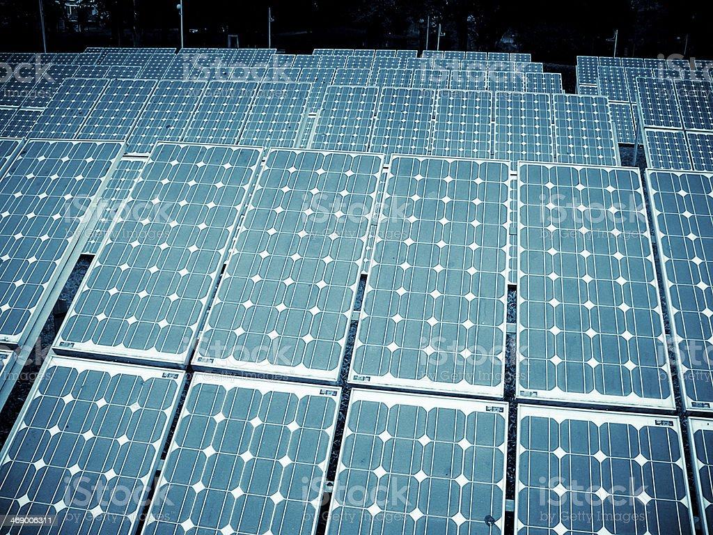 Solar panels, Alternative Energy royalty-free stock photo