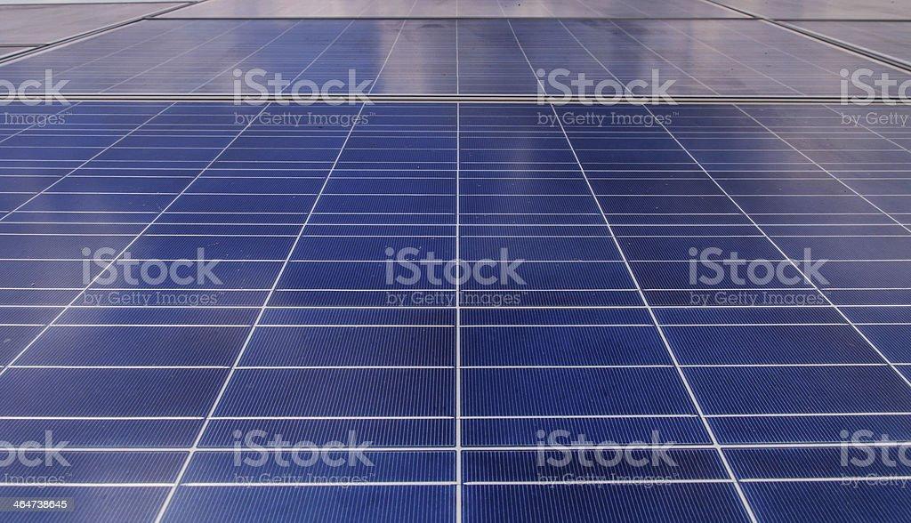 Solar panels background royalty-free stock photo