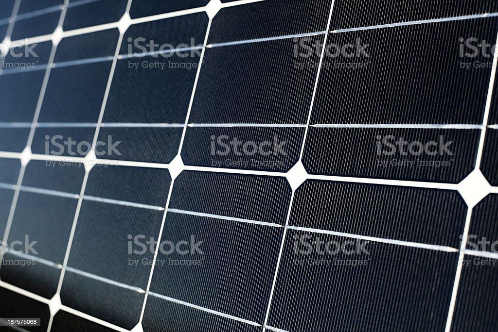 Solar Panels Close up stock photo