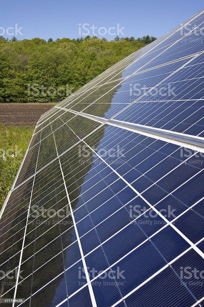 Solar Panels, close up royalty-free stock photo