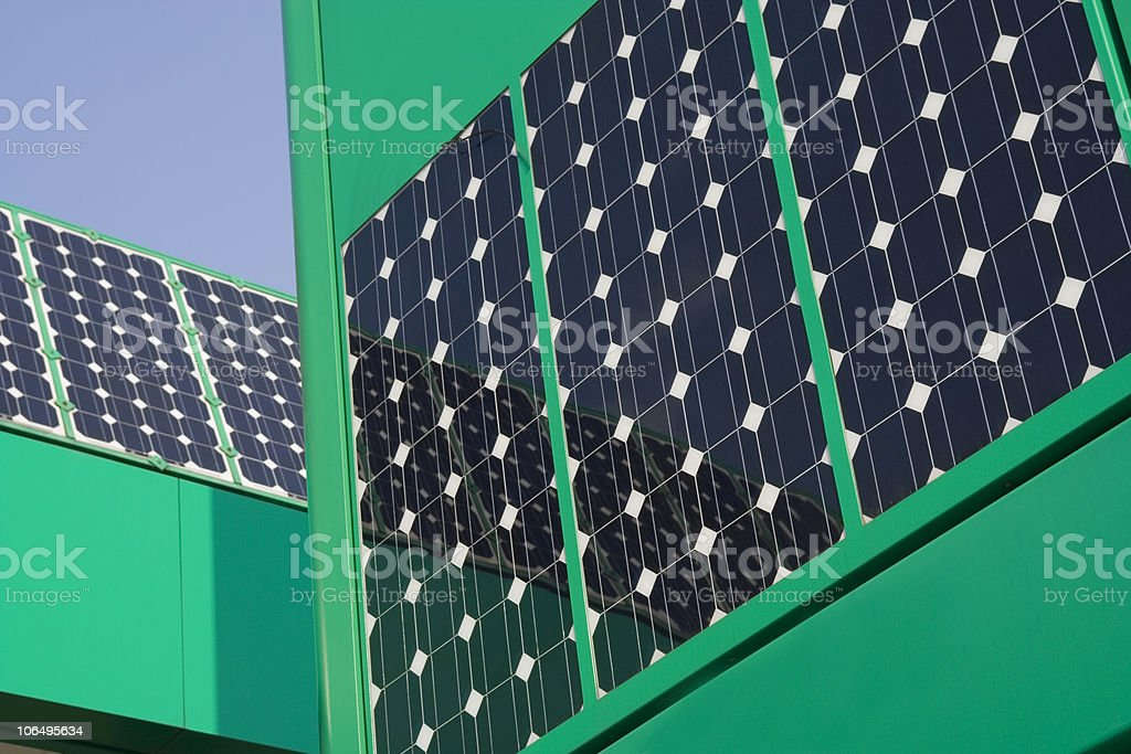 Solar Panels royalty-free stock photo