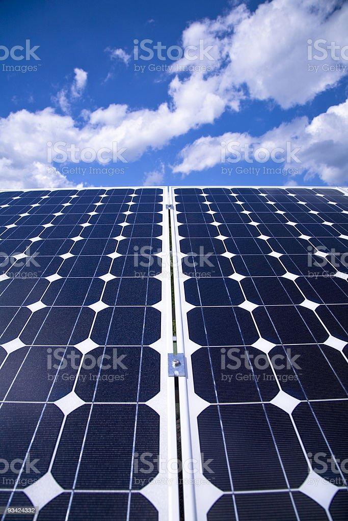 solar panels royalty-free stock photo