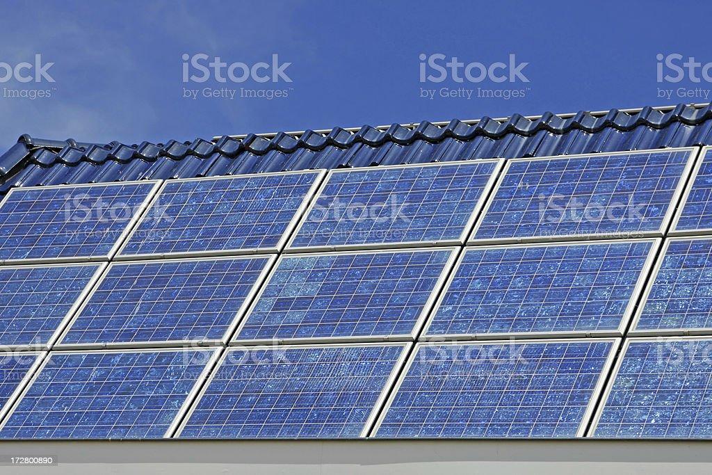 Solar panels # 2 XL royalty-free stock photo