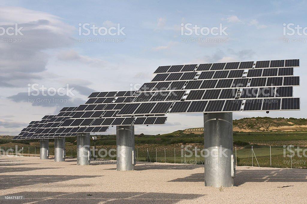 Solar panels_02 royalty-free stock photo