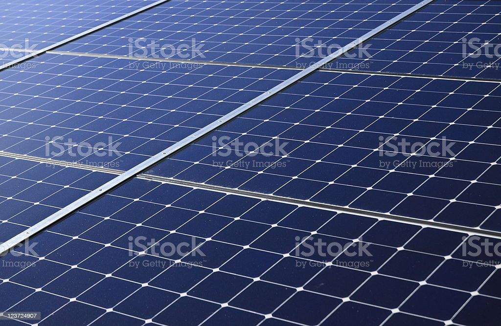 solar pannels royalty-free stock photo
