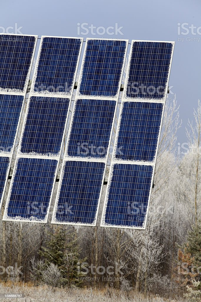 Solar Photovoltaic Panel royalty-free stock photo