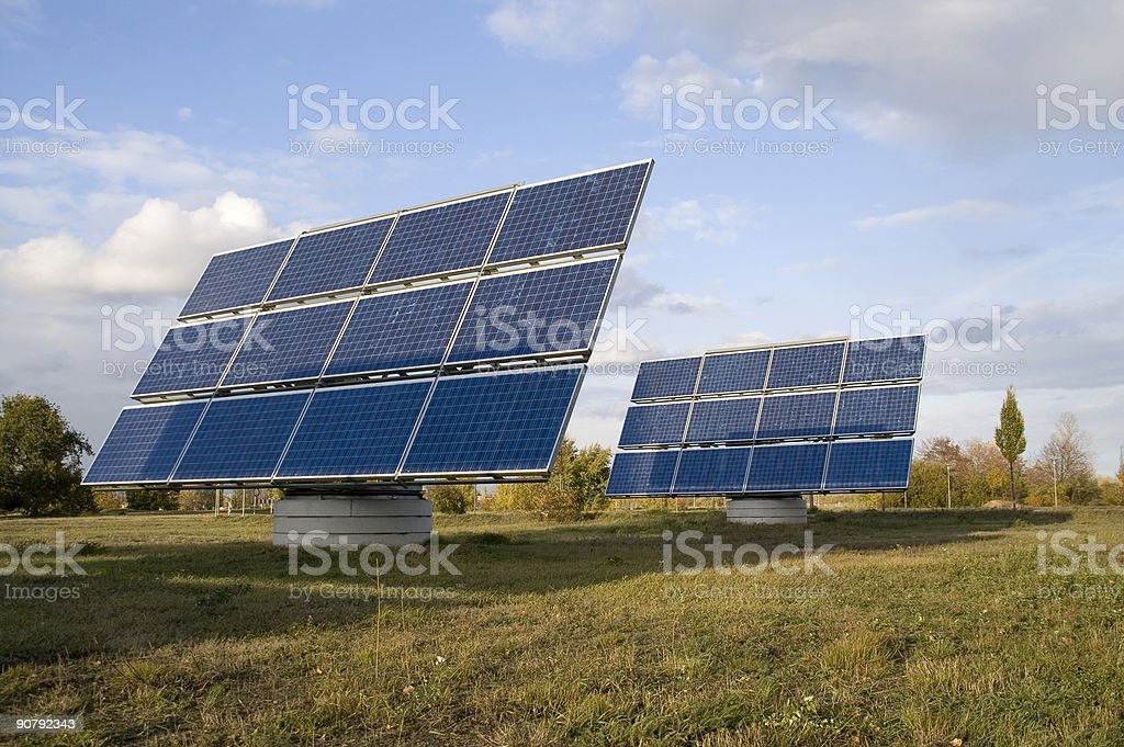 solar power 3rd royalty-free stock photo