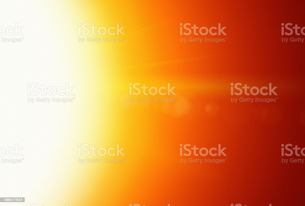 Solar power source: cropped shot of dazzling golden noonday sun stock photo