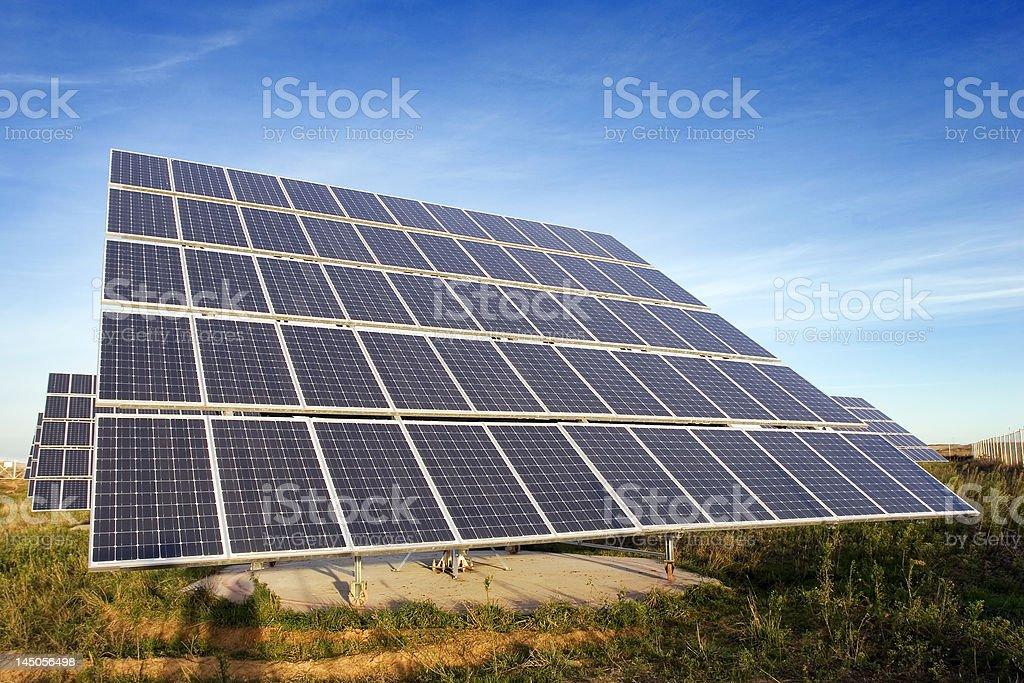 Solar power station 1 royalty-free stock photo
