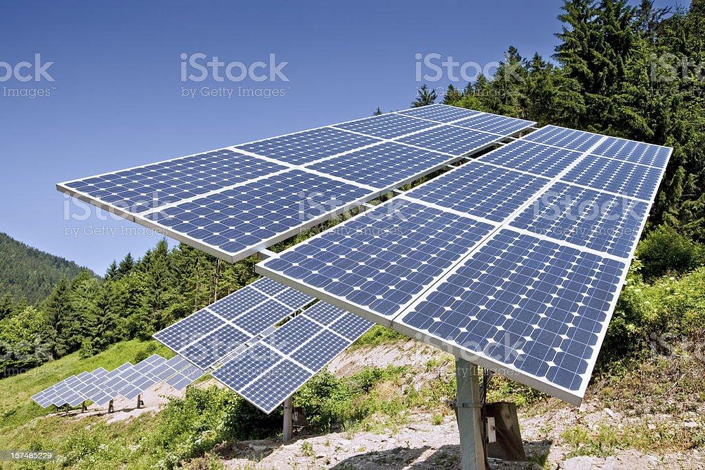 Solar Power Station royalty-free stock photo