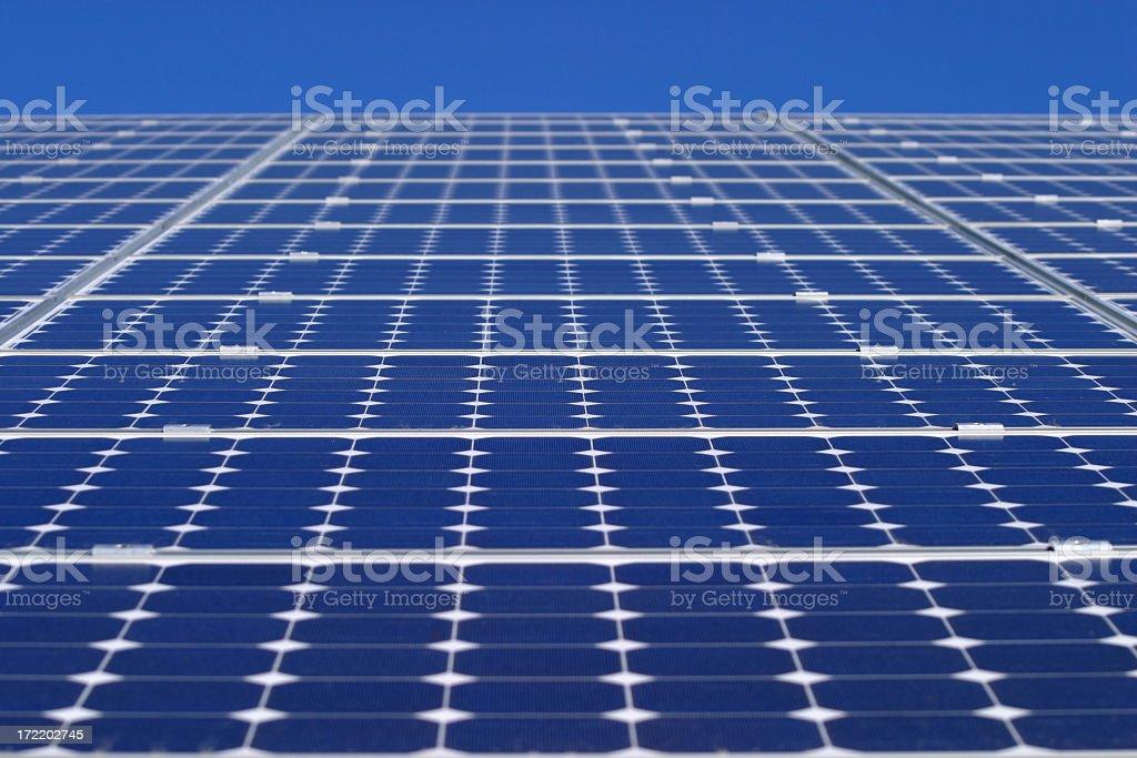 solar power till the horizon 2 royalty-free stock photo