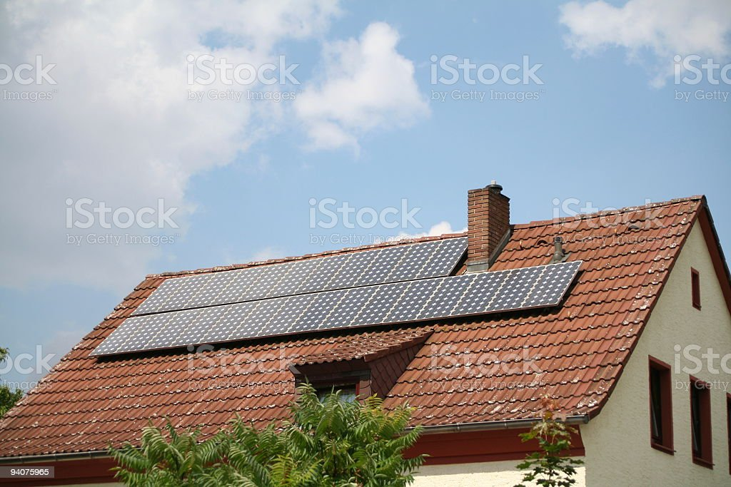 Solar Powered 5 royalty-free stock photo