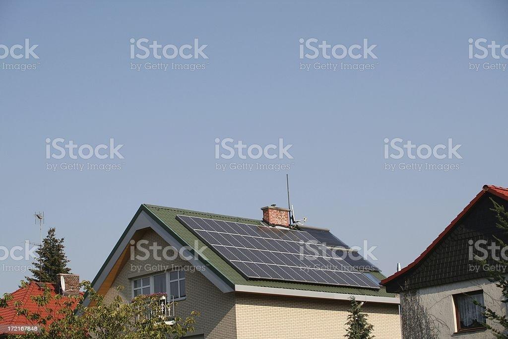 Solar powered royalty-free stock photo