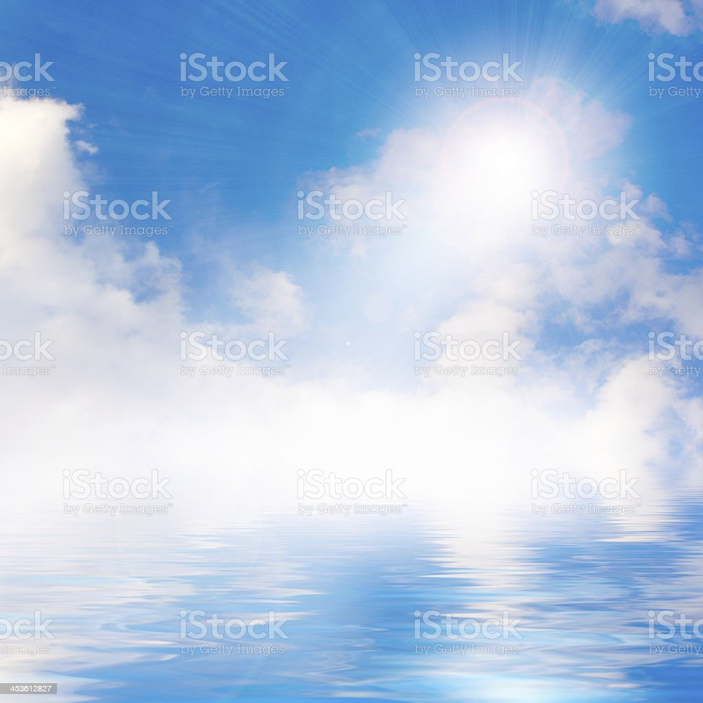 solar sky royalty-free stock photo