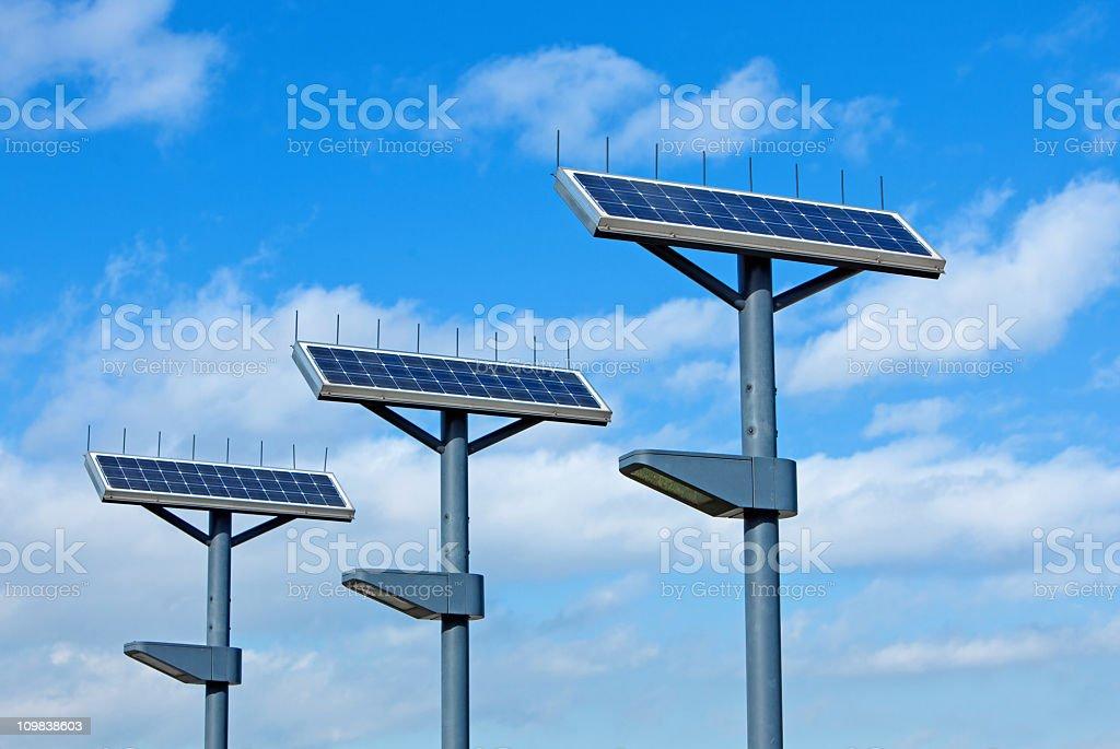 Solar Street Lamp royalty-free stock photo