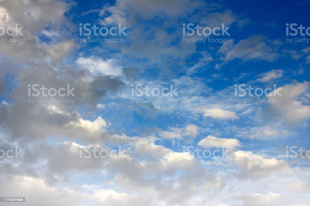 solar summer sky royalty-free stock photo