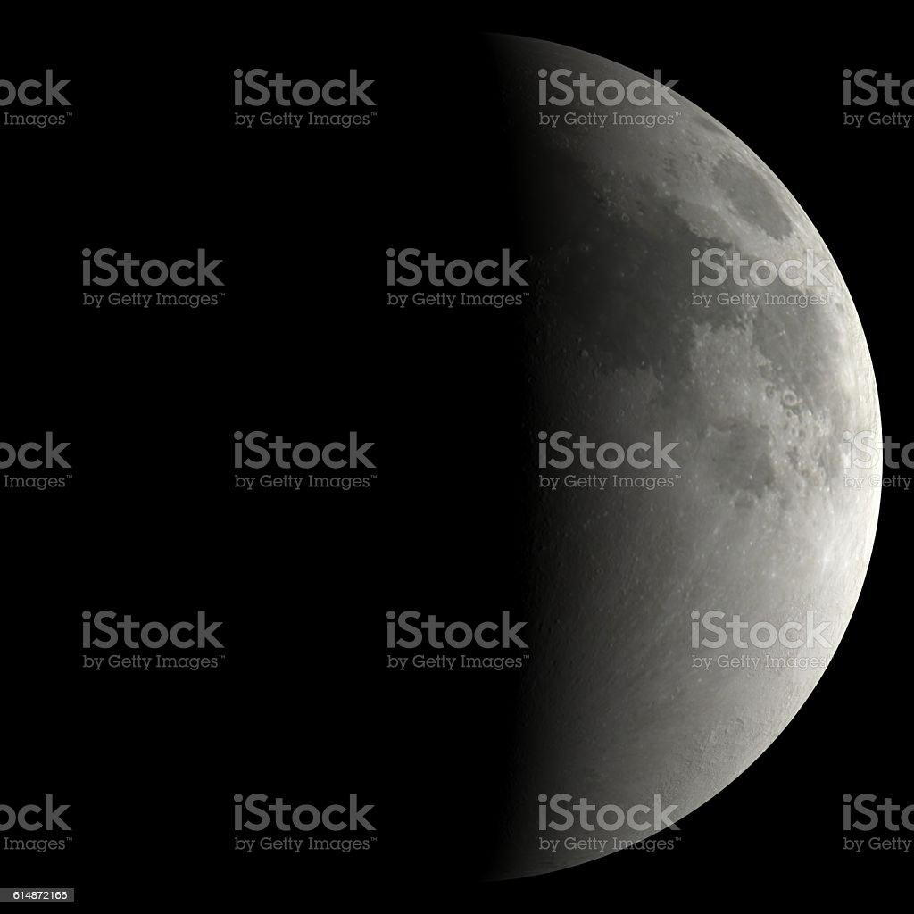 solar system moon stock photo