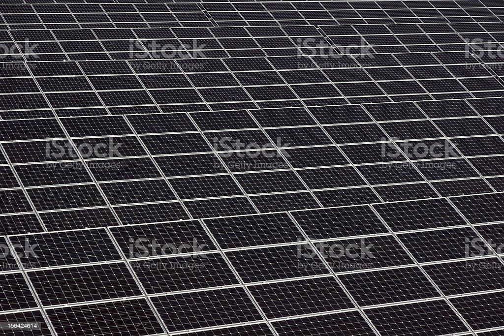 Solar system panels royalty-free stock photo