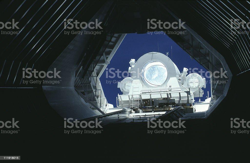 Solar Telescope at Kitt Peak, Arizona stock photo
