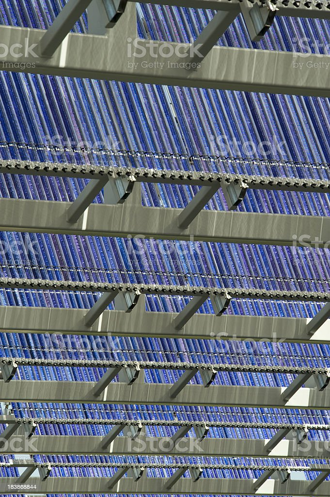 Solar Thermal Panels royalty-free stock photo