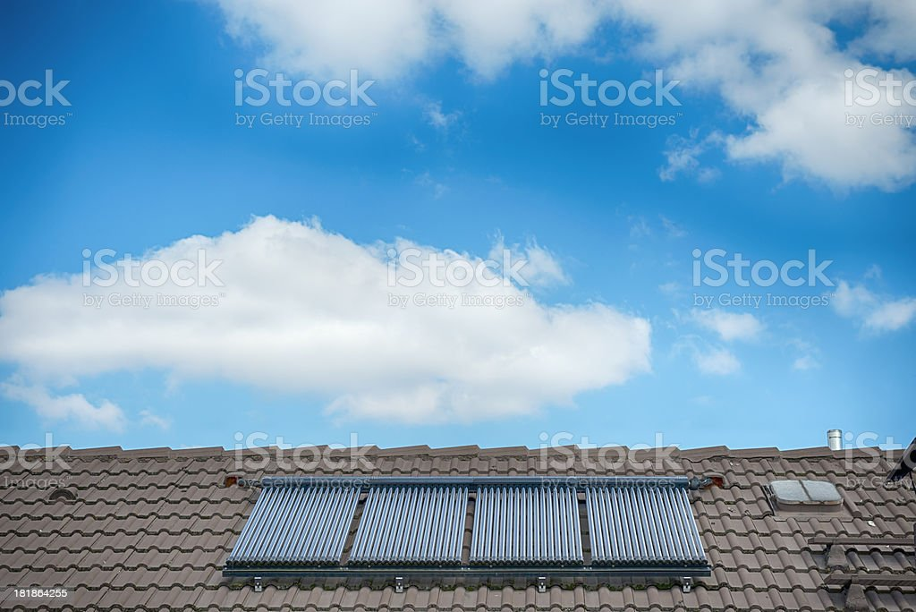 Solar Thermal stock photo
