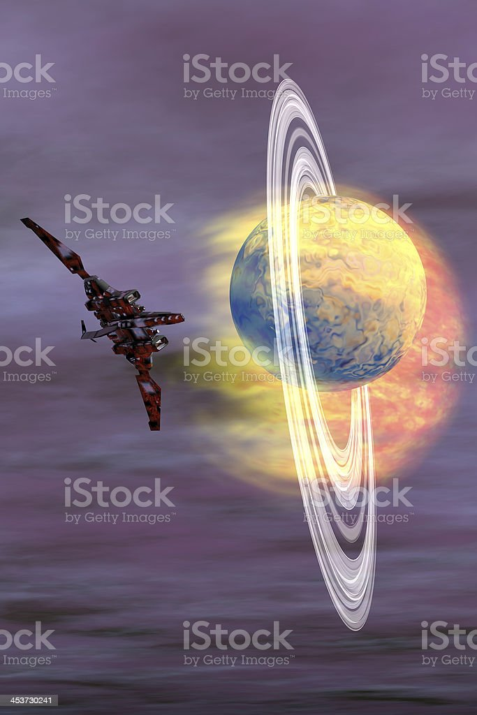 Solar Winds stock photo