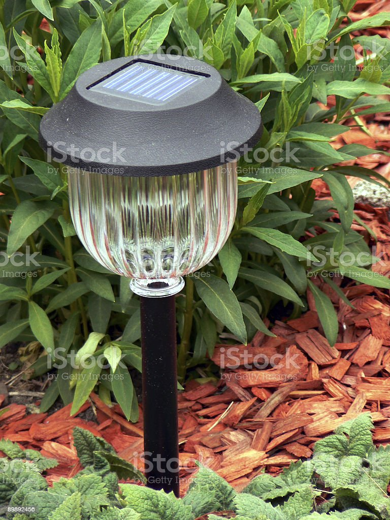 Solarcell lamp royalty-free stock photo