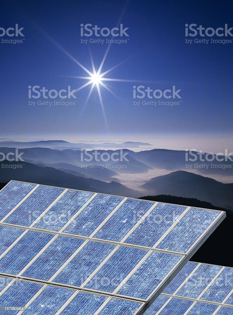 Solarenergy (image size XXL) stock photo