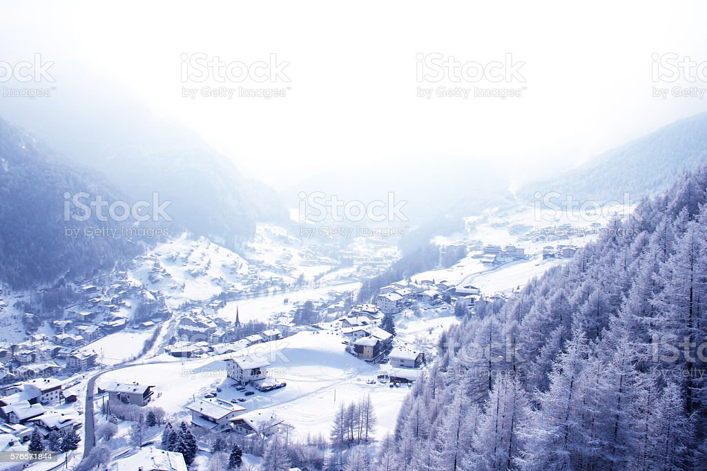 Solden, Austria stock photo