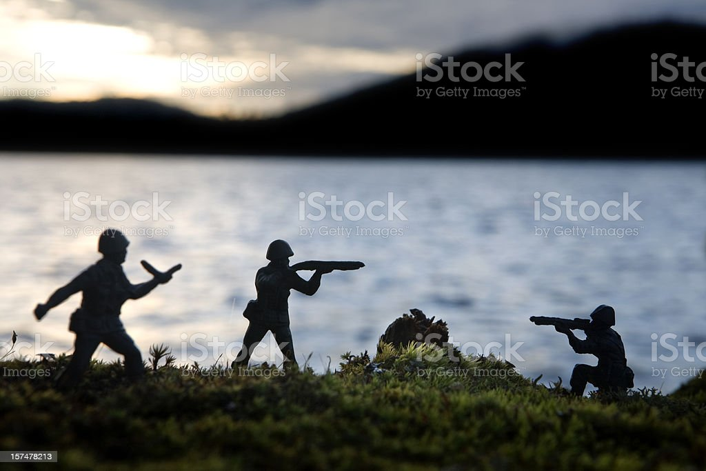 soldier battle royalty-free stock photo
