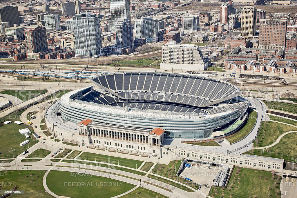 Soldier Field stock photo