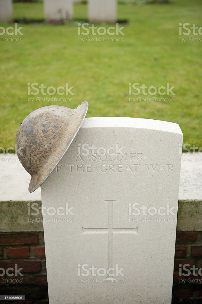 Soldier Of The Great War royalty-free stock photo