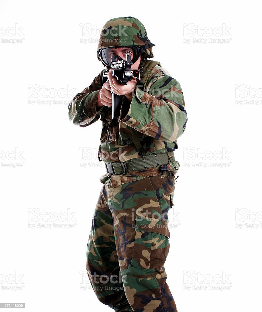Soldier. stock photo