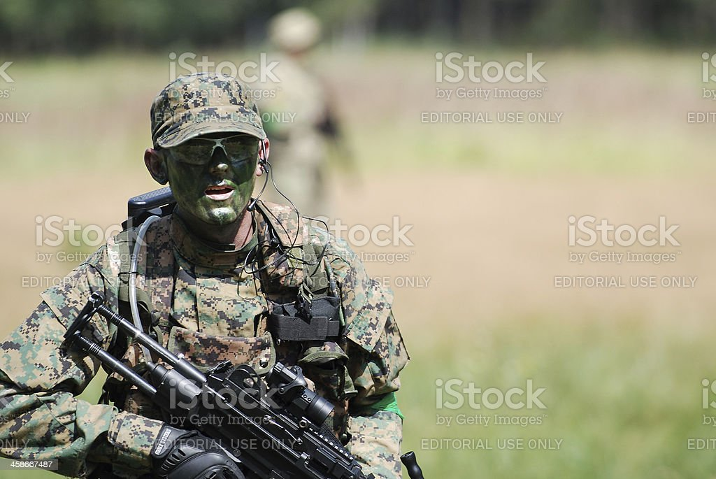 ASG Soldier stock photo