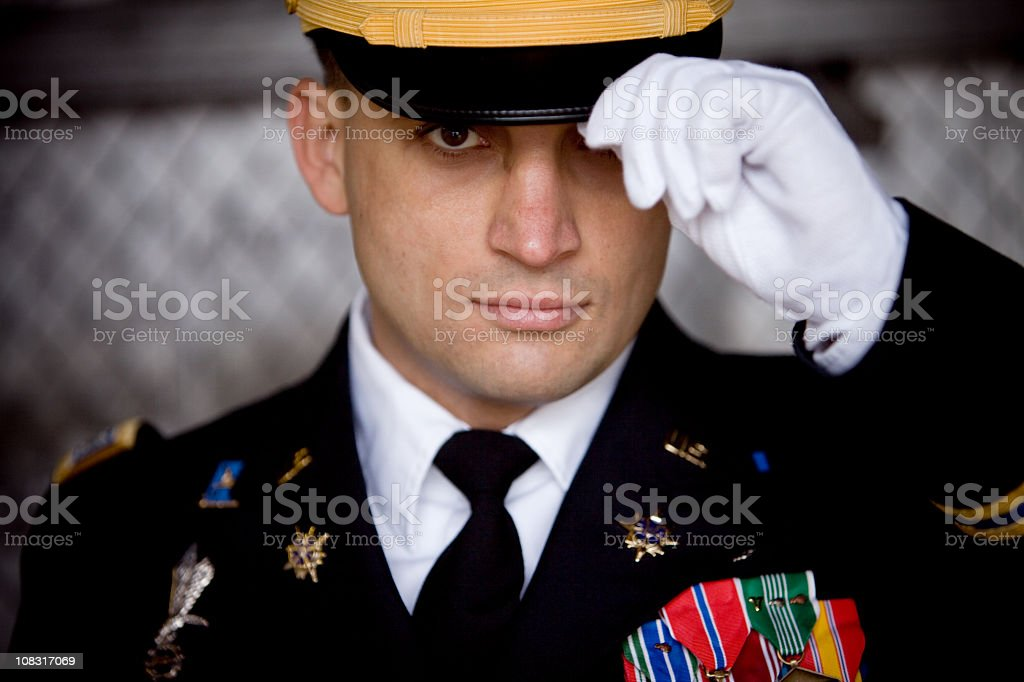 Soldier Portrait royalty-free stock photo