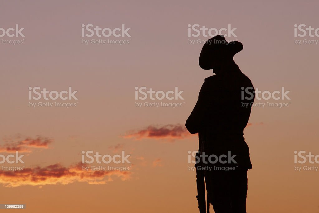 Soldier Statue royalty-free stock photo