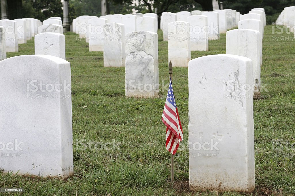 Soldiers Grave royalty-free stock photo