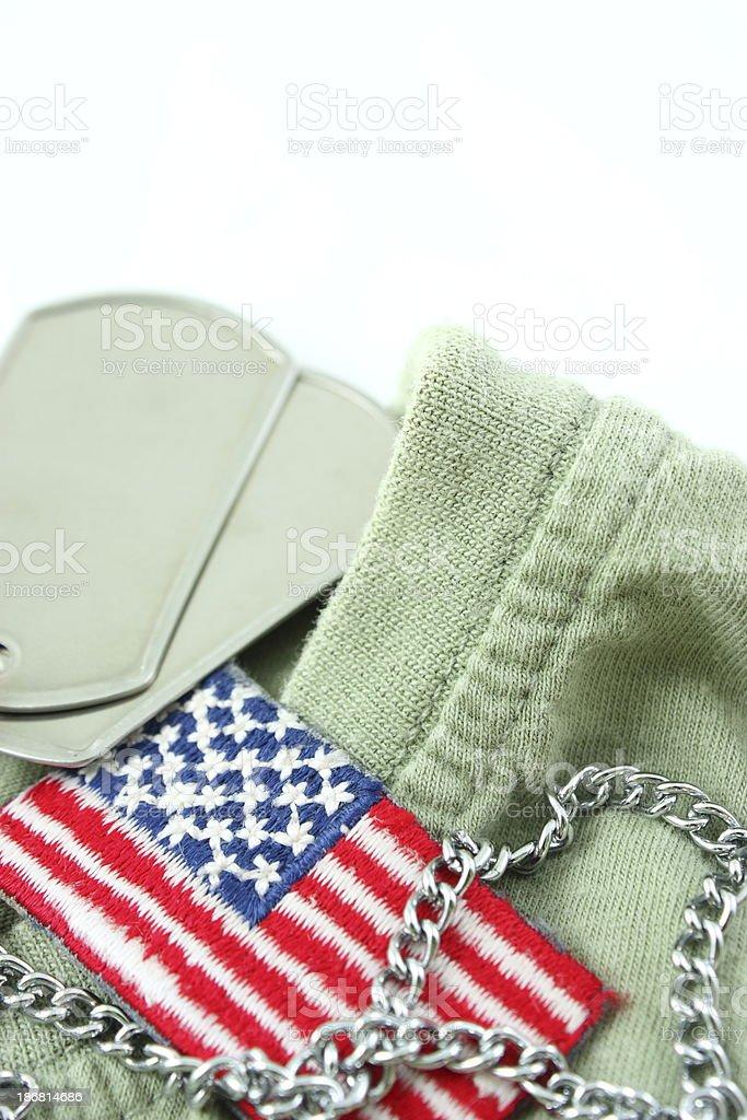 Soldier's life stock photo