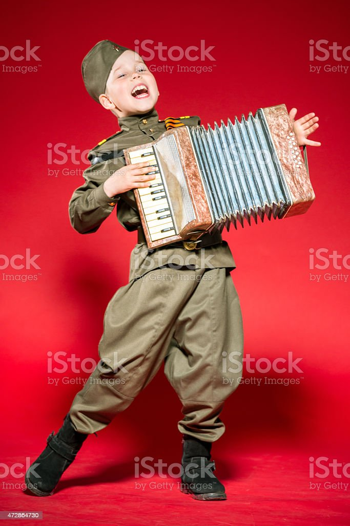 Soldier's Song stock photo
