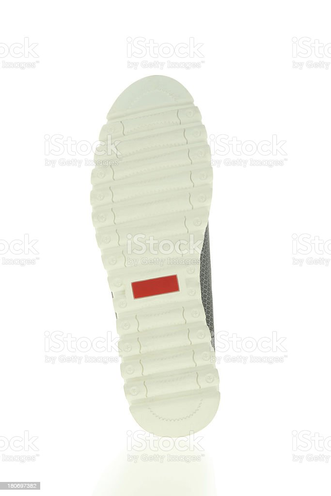 Sole of Hiking Shoe royalty-free stock photo