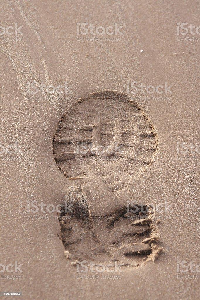 soleprint stock photo