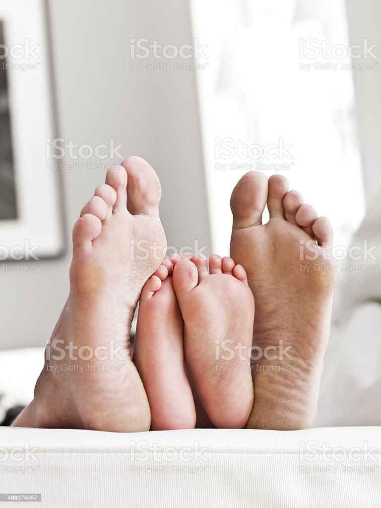Soles of feets royalty-free stock photo