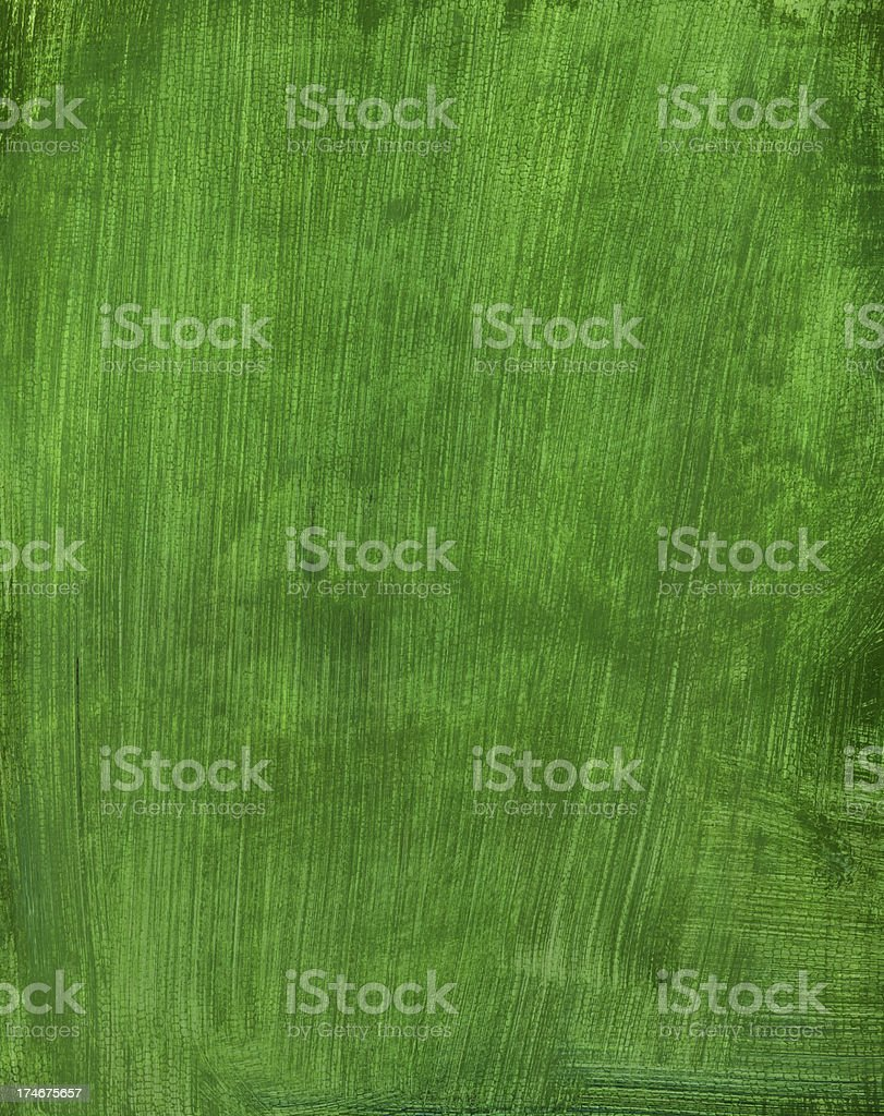 Solid Green Painted Background royalty-free stock photo